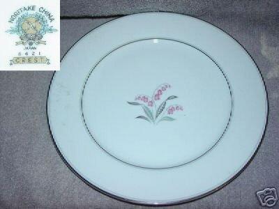 Noritake Crest 1 Dinner Plate