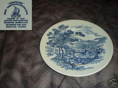 Wedgwood Countryside - Blue 3 Salad Plates