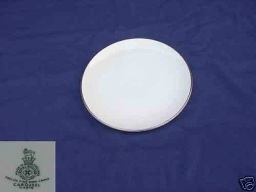 Royal Doulton Carousel 3 Dinner Plates - MINT