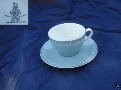 Royal Doulton Aegean 4 Cup and Saucer Sets