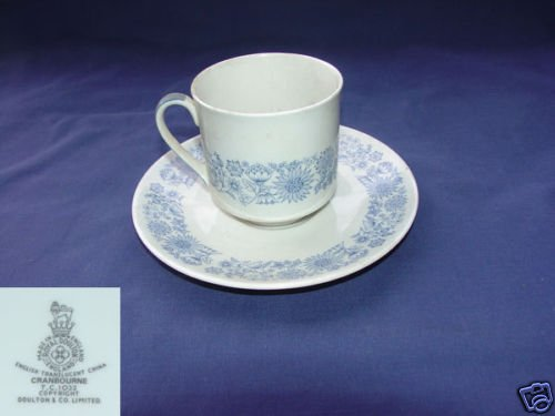 Royal Doulton Cranbourne 1 Cup and Saucer Set
