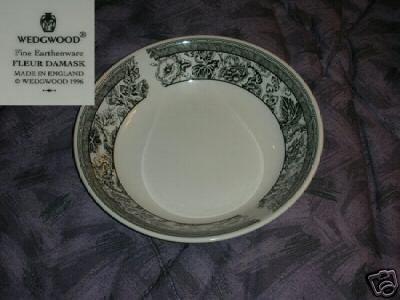 Wedgwood  Fleur Damask 2 Individual Pasta Bowls