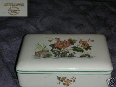 Wedgwood Eastern Flowers Dresser Box