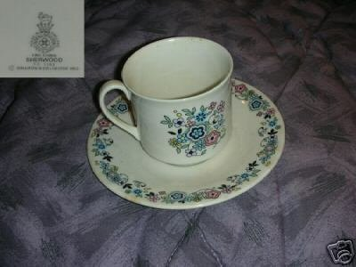 Royal Doulton Sherwood 5 Cup and Saucer Sets