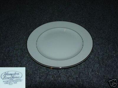 Hampton Fine China (Japan) Crestline 4 Bread Plates