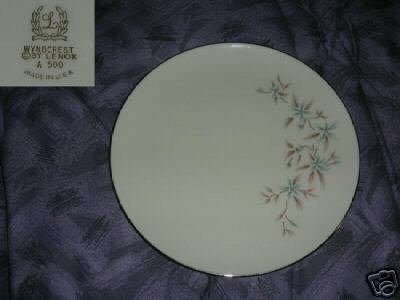 Lenox Wyndcrest 4 Salad Plates