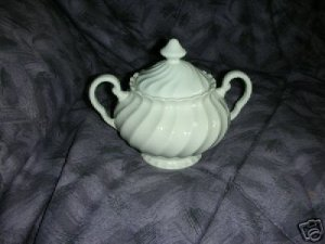 Johnson Brothers Suffolk Snowhite 1 Sugar Dish ( Bowl )