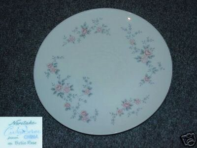 Noritake Belle Rose Cook N Serve 3 Bread Plates