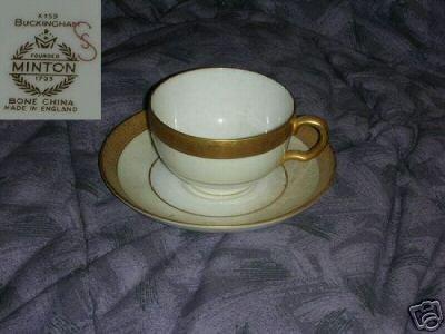 Minton Buckingham 1 K-159 Cup and Saucer Set