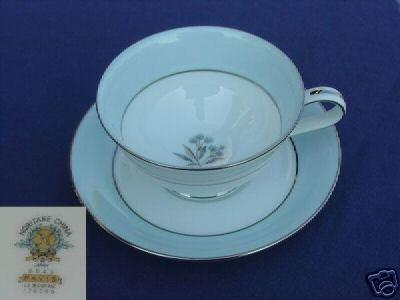 Noritake Mavis 4 Cup and Saucer Sets - MINT