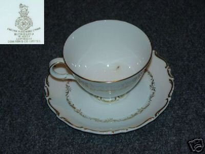 Royal Doulton Richelieu 1 Cup and Saucer Set - MINT