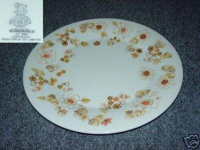 Royal Doulton Sundance 4 Dinner Plates - MINT