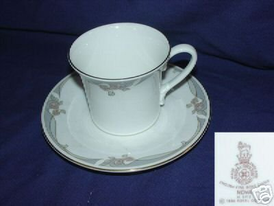 Royal Doulton Nova Pattern 1 Cup and Saucer Set