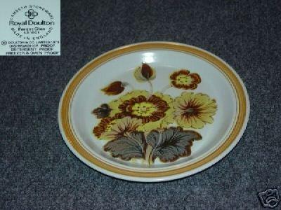 Royal Doulton Forest Glen 3 Salad Plates - MINT