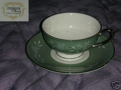 Syracuse Candlelight 1 Cup and Saucer Set