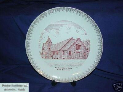 St. Luke Lutheran Church  Venus, Pennsylavania  Plate