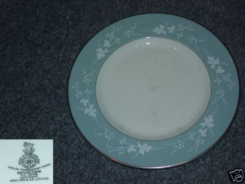 Royal Doulton Reflection 4 Bread and Butter Plates