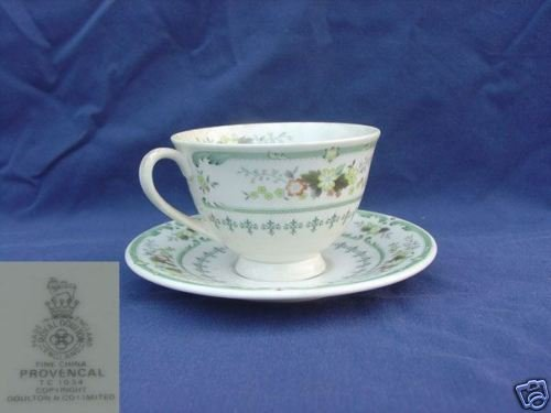 Royal Doulton Provencal 3 Cup and Saucer Set - MINT