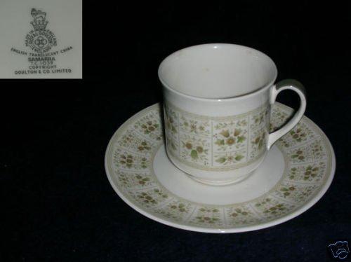 Royal Doulton Samarra 2 Cup and Saucer Sets