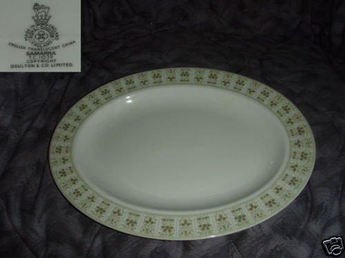 """Royal Doulton Samarra 1 Oval Serving Platter - 13 1/8"""""""