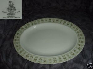 Royal Doulton Samarra 1 Oval Serving Platter - 13 1/8""