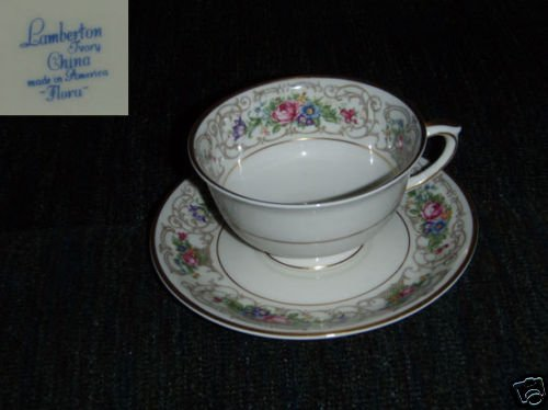 Lamberton Flora 1 Cup and Saucer Set