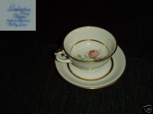 Lamberton Betty Lou 3 Cup and Saucer Sets
