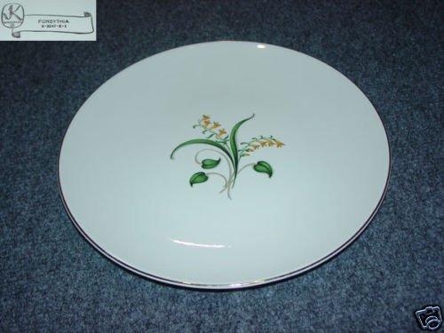Knowles Forsythia 4 Dinner Plates