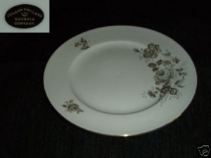 Johann Haviland Twilight 4 Dinner Plates - New