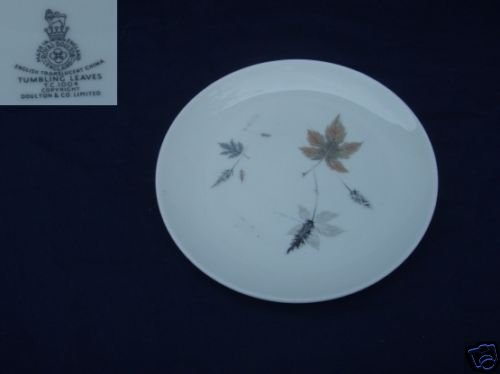 Royal Doulton Tumbling Leaves 4 Bread and Butter Plates