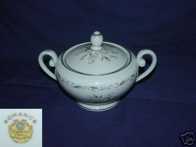 Diamond Romance 1 Sugar Dish ( Bowl ) with Lid