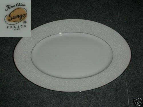 "Sango Fresco 1 Oval Serving Platter 16 3/8"""