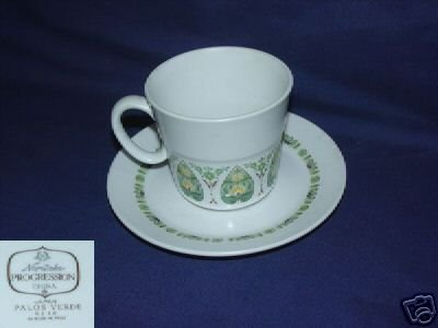Noritake Palos Verde 4 Cup and Saucer Sets