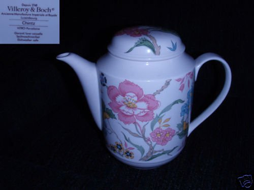Villeroy and Boch Chintz 1 Coffee Pot with Lid