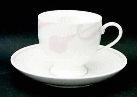 Mikasa Classic Flair Peach 2 Cup and Saucer Sets