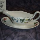Wedgwood Richmond Gravy Boat with Underplate