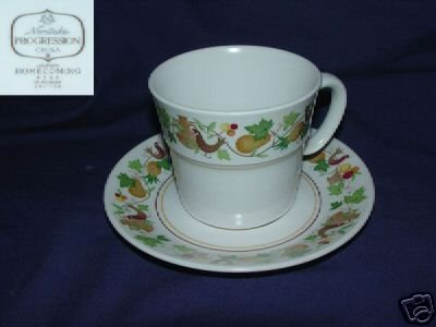 Noritake Homecoming 3 Cup and Saucer Sets