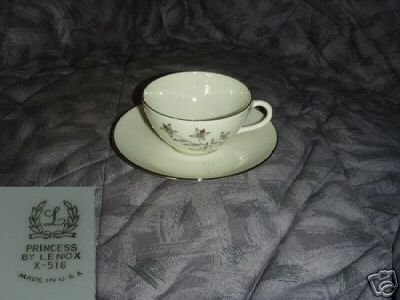 Lenox Princess 4 Cup and Saucer Sets