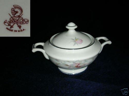 Warwick Silver Moon 1 Sugar Dish ( Bowl ) with Lid