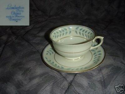 Lamberton Empire 4 Cup and Saucer Sets
