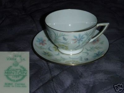 Minton Vanessa 1 Cup and Saucer Set
