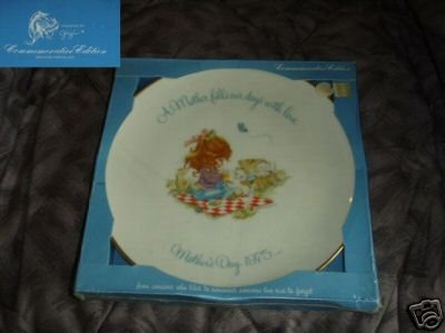 Mother's Day 1975 designed by Gigi Collector Plate
