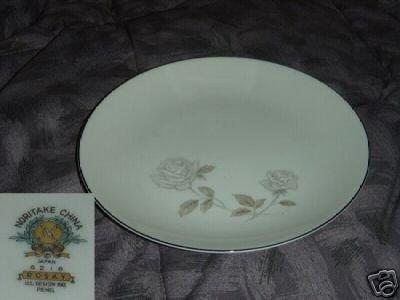 Noritake Rosay 4 Salad Plates