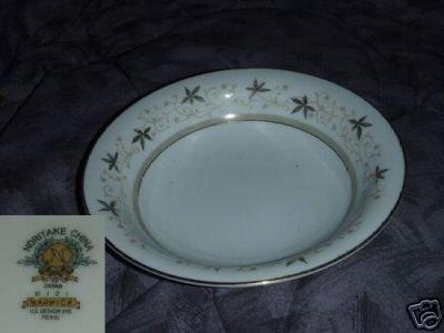 Noritake Warwick 4 Soup Bowls