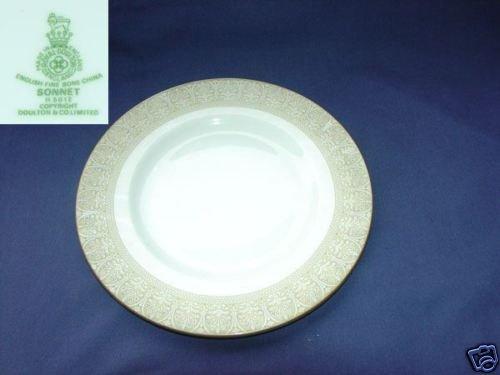 Royal Doulton Sonnet 3 Salad Plates - MINT