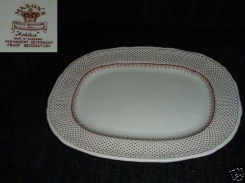 Masons Ashlea - Brown 1 Oval Serving Platter