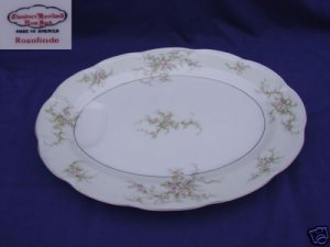 Theodore Haviland NY Rosalinde 1 Oval Serving Platter
