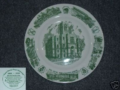 Beaver County 1800 - 1950 Collector Plate