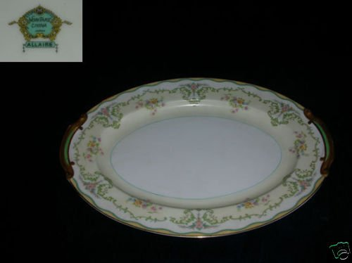 Noritake Allaire 1 Oval Serving Platter - 11 3/4""