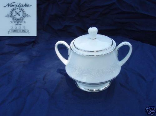 Noritake Cumberland 1 Sugar Dish ( Bowl ) with Lid